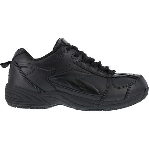 athletic work shoes slip resistant locut athletic work shoe by reebok rb1100