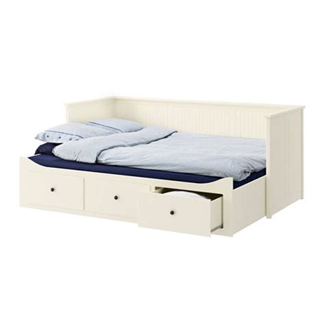 hemnes day bed w 3 drawers 2 mattresses grey malfors firm hemnes day bed w 3 drawers 2 mattresses white moshult firm