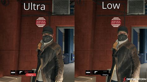 Pc Rakitan Komputer Gaming Setting Ultra Watchdog 2 Gta V Farcry dogs pc compares ultra and low graphic settings of the see the difference