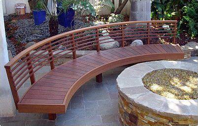 curved wooden garden bench outdoor living curved wooden bench outdoor living space pinter