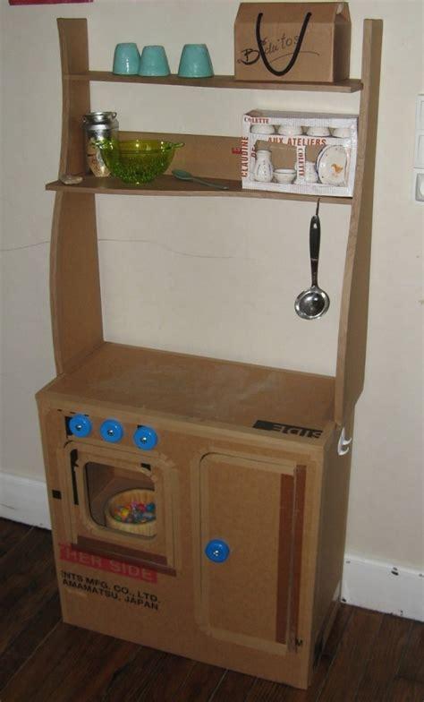 Cardboard Kitchen by Cardboard Children Kitchen Diy