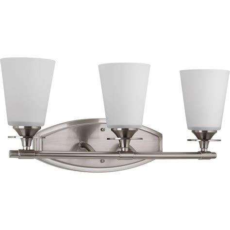 Bathroom Lighting Collections by Progress Lighting Replay Collection 1 Light Polished