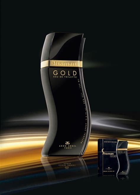 Arno Sorel For Original Parfum shaman gold arno sorel perfume bottles modern