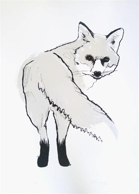 silver fox print club london