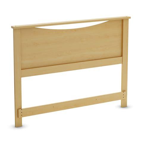 maple headboards south shore step one natural maple headboard 3113090