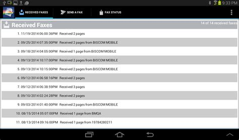 mobile fax biscom mobile fax for android android apps on play