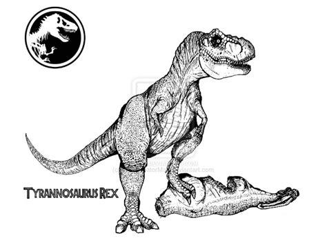 jurassic world coloring pages t rex thepredatorman tom deviantart