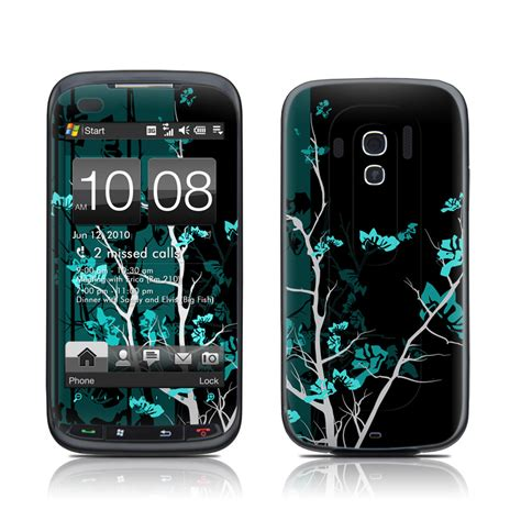 htc touch 2 themes htc touch pro 2 w skin aqua tranquility decalgirl