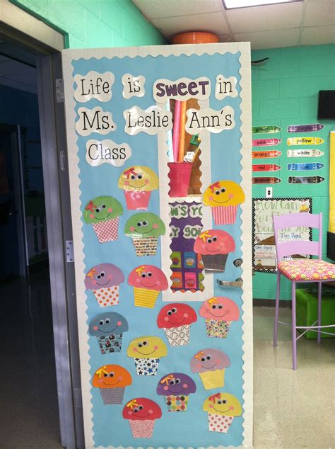 cute themes for school life in first grade my new door