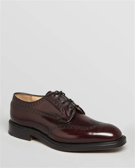 burgundy oxford shoes womens church s grafton wingtip oxfords in black for