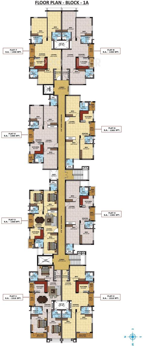 models rates imperial tower apartments with how big is 1510 sq ft 3 bhk 3t apartment for sale in sri sreenivasa