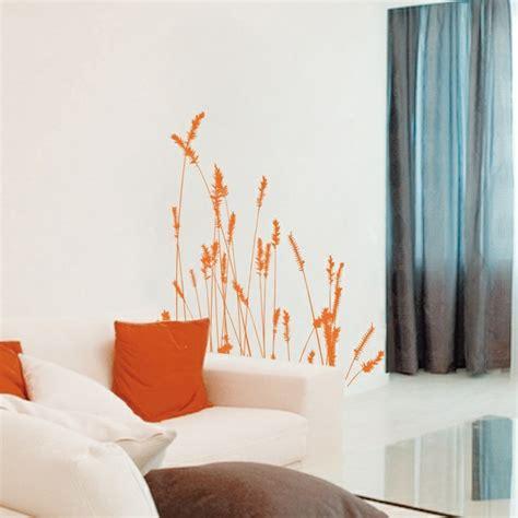 orange schlafzimmerdekor wandtattoos und wandsticker coole wanddeko