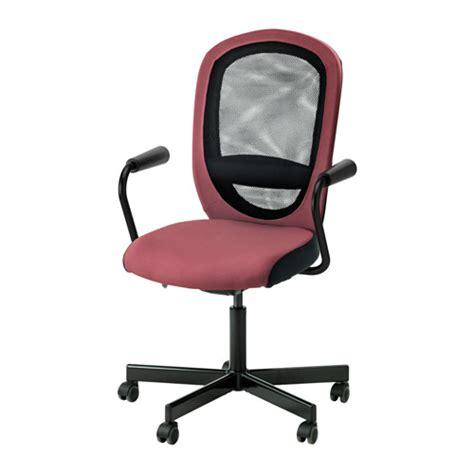 Ikea Kritter Kursi Anak Merah flintan nominell kursi putar berlengan merah muda tua ikea