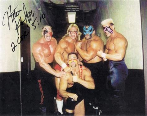 road warrior animal bench press road warriors nikita koloff sting lex lugar nwa wcw