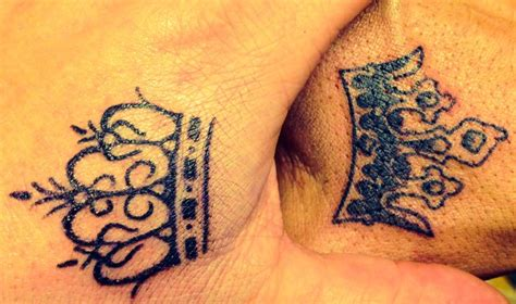 king and queen hand tattoos 32 images pictures and design ideas