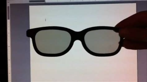 3d glasses and a computer screen