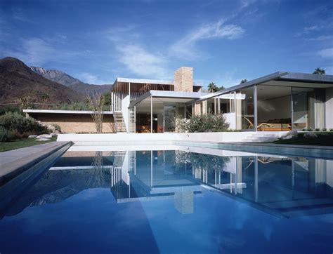 Modern Multi Family Building Plans by Marmol Radziner Kaufmann House