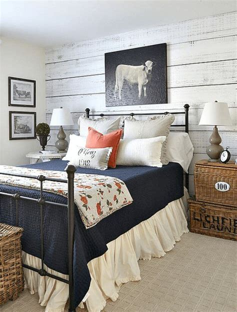 Country Chic Bedroom Ideas 39 best farmhouse bedroom design and decor ideas for 2017