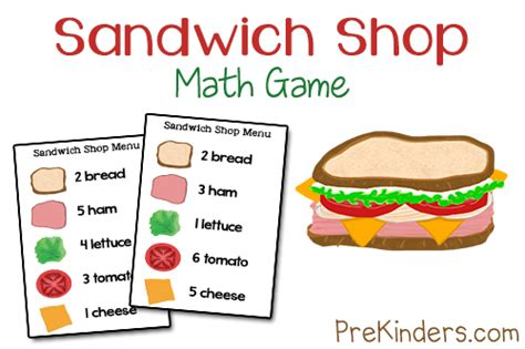 sandwich shop menu template 4 best images of printable cut out sandwich pieces