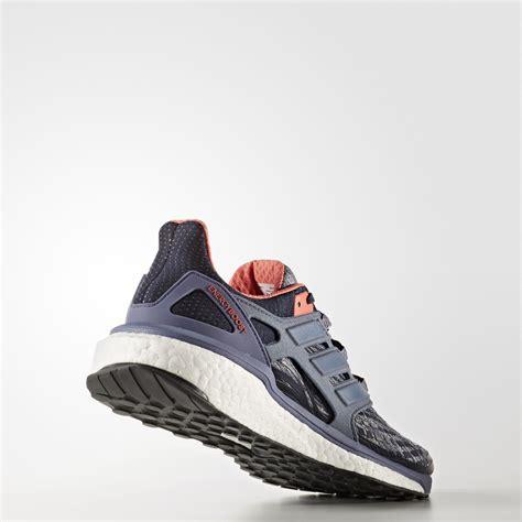 Sepatu Lari Adidas Womens Energy Boost Legend Ink adidas womens energy boost running shoes black purple fitnessnuts