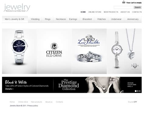 jewelry templates glittering jewelry flash cms template 38491