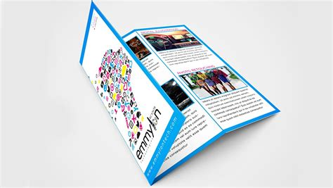 Trifold Template Illustrator by Adobe Illustrator Tri Fold Brochure Template The Best