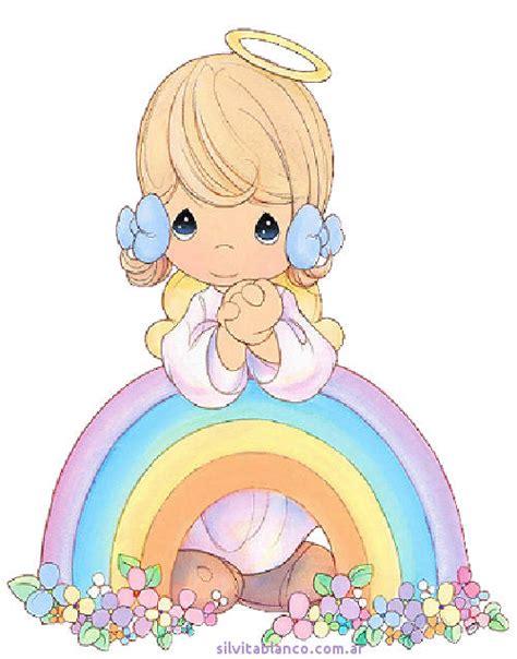 imagenes de angelitos precious moments precious moments material para hacer tarjetas angelitos