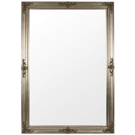 silver bathroom mirror the silver mirror range available in various sizes