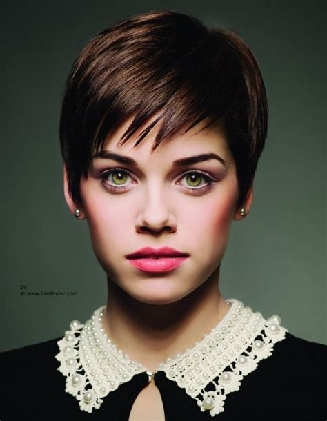 short cut hairstyles images we have the best gallery of the latest short brown pixie