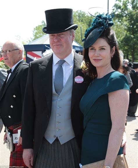 karen spencer countess spencer the queen arrives for a third day at royal ascot diana