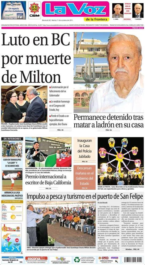 organizacin editorial mexicana wikipedia the free la voz de la frontera lavozdelafrontera periodico la voz