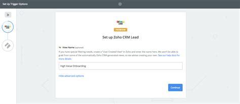 zoho crm templates zoho crm process integration process help