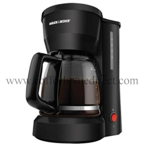 black decker dcm600b 5 cup coffee maker