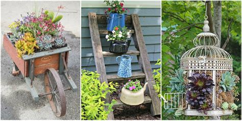 Unique Container Gardening Ideas Unique Container Gardening Ideas Creative Container Gardens