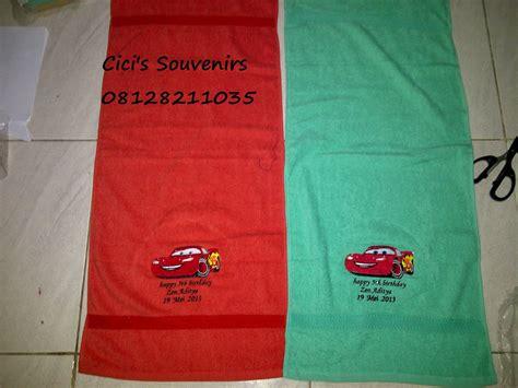Handuk Karakter Anak Uk Sedang 100cm X 54cm 9 www cicissouvenirs souvenir handuk karakter uk 75 x 140 cm