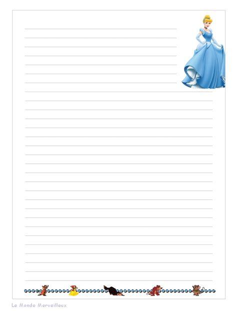 Lettre De Désengagement Free Papier A Lettre De Princesse