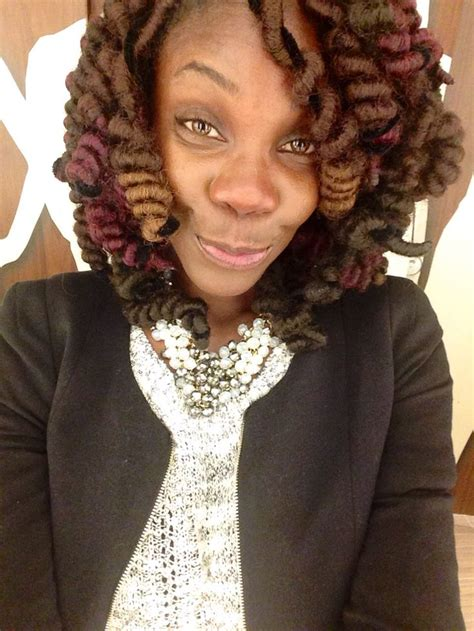 tight curly faux perm steps faux locs styled with pipe cleaners for tight curl look