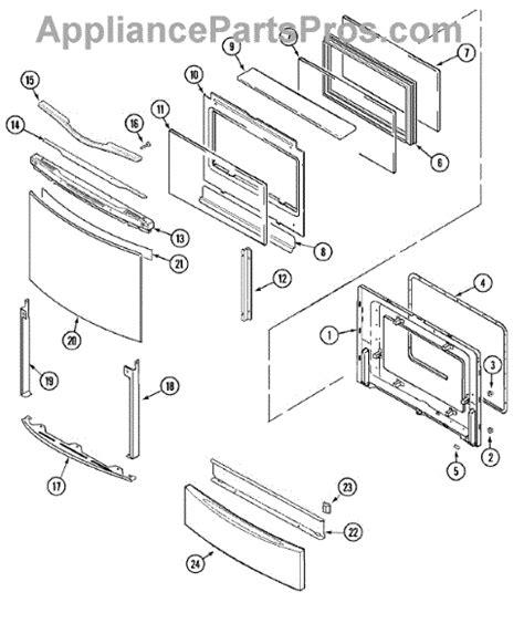 jenn air oven parts diagram parts for jenn air jds9860aaw door access panel parts