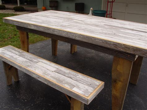 Kitchen Tables Made From Barn Wood Harvest Dining Table Barn Wood Furniture Kitchen By Primitivearts