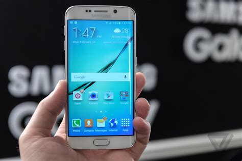 Samsung S6 Edge Kc up with samsung s galaxy s6 and s6 edge the verge