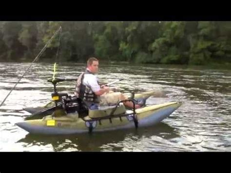 pontoon kick boat accessories colorado xt pontoon on catawba river youtube classic