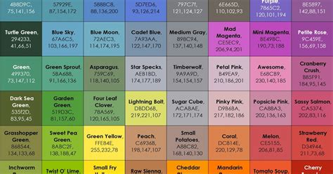 list of crayola colors list of current crayola marker colors s crayon