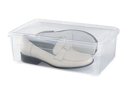 plastic containers for sneakers shoes accessories