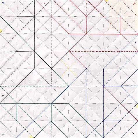 Geometric Paper Folding Patterns - pattern inspiration origami pattern