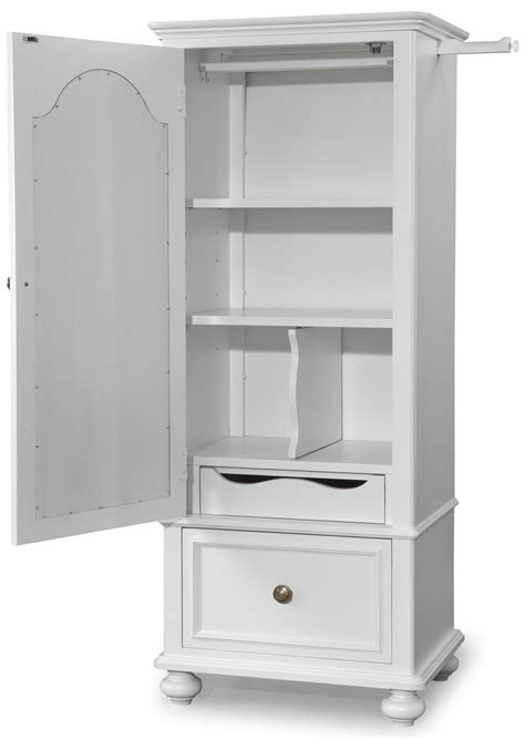 Coleman Wardrobe by Wardrobe With Mirrored Door From Legacy 2830