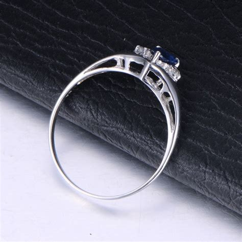 affordable sapphire and engagement ring on 10k