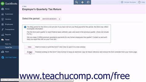 payroll tutorial quickbooks online quickbooks online plus 2015 tutorial process payroll forms