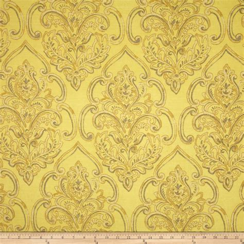 upholstery fabric damask duralee home william damask yellow discount designer