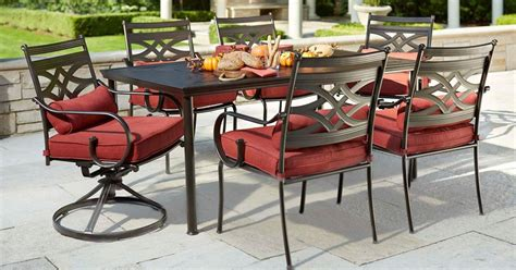 Hton Bay Patio Dining Set Hton Bay Vichy Springs 7 Patio High Dining Set Hton Bay Vichy Springs 7 Patio High Dining Set
