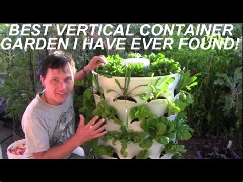 grow 53 plants in 4 sq ft with a garden tower vertical